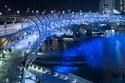 اجسر هيليكس اللولبي سنغافورة
