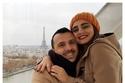 إيمية صياح مع زوجها