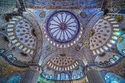 المسجد الأزرق في إسطنيول ، تركيا