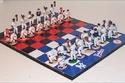 شطرنج فريق الكرة