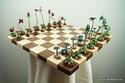 شطرنج على شكل نباتات