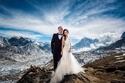 حفل زفاف فوق جبل إفرست