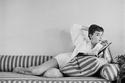 في منزلها عام 1954