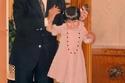 الملك سلمان بن عبدالعزيز مع حفيدته الأميرة سلطانه بنت عبدالعزيز