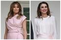 الملكة رانيا ملكة الأردن وميلانيا ترامب