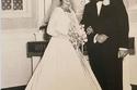 صورة الزفاف الرسمية عام 1960