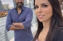 باسم ياخور مع زوجته