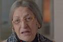 الفنانة ليلى عز العرب، بباروكة بيضاء لدور الجدة في مسلسل ونحب تاني ليه