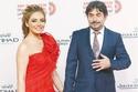 عابد فهد وزوجته الإعلامية زينة يازجي
