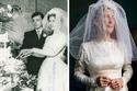 تزوجت هذه السيدة عام 1963 واستعادت ذكرياتها مع الفستان بتلك الصورة