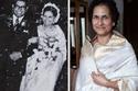 لا يزال فستان هذه السيدة يلمع بنفس لون يوم زفافها عام 1974