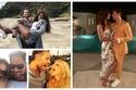 صور غاية في الرومانسية أشهر النجوم في شهر العسل.. سيرينا ويليامز مضحكة