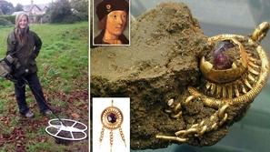 صور: بالصدفة البحتة تعثر على جوهرة ملكية عمرها 500 عام