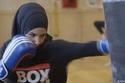 بطلة الملاكمة زينة نصار