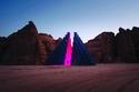 أعمال فنية تعكس جمال صحراء العلا