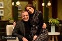 أسماء شريف منير مع والدها