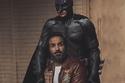 أحمد فهمي مع بطل باتمان