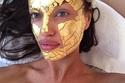إيرينا شايك وقناع من الذهب 24 قيراط بـ400 دولار