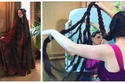 صور: شعرها أطول منها.. رابونزل الحقيقية لم تغسل شعرها منذ 20 عام