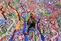 اللوحة  ستباع بالمزاد العلني في دبي لجمع ملايين الدولارات