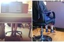 كل المقاعد أعلى مما يجب، ولا بد من الحصول على مساعدة في الجلوس لتفادي آلام القدمين