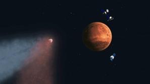 صور مذهلة لبداية الربيع على سطح الكوكب الأحمر .. التقطتها ناسا