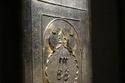 باب مطلي فضة للكعبة المكرمة