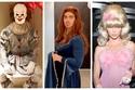 صور: مستحيل.. مشاهير لن تتعرف عليهم في أزياء الهالوين