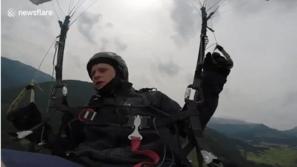 فيديو يحبس الأنفاس لرياضي يوثق لحظات موته بالمظلة بين السماء والأض