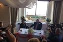 حفل زفاف نورا ويتكيس وحبيبها مالكوم ياتيس