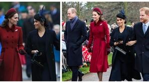 صور: بأوامر من الملكة.. هكذا تعاملت كيت وميغان مع بعضهما