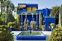 Le Jardin Majorelle في مراكش ، المغرب