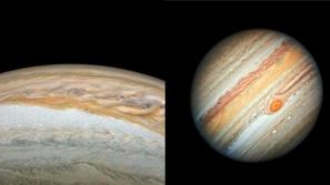 ناسا تكشف عن أدق صورة لكوكب المشترى أكبر كواكب المجموعة الشمسية