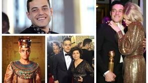 صور: معلومات قد لا تعرفها عن رامي مالك.. كان بائع فلافل وهذا سر حبيبته