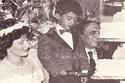 هيثم أحمد زكي في حفل زفاف والدته