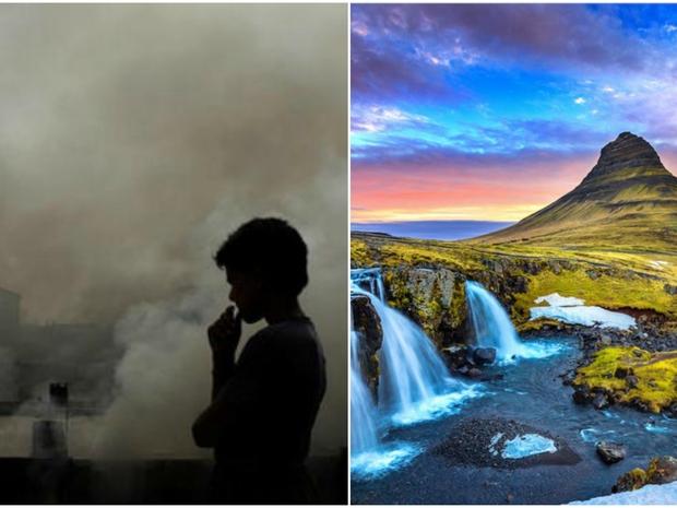 صور: أنظف وأقذر هواء في العالم.. 4 دول عربية لا يمكنك التنفس بها