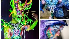 صور: هكذا تحول البشر إلى وحوش في واحد من أشهر المهرجانات في العالم