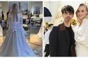 صور الزفاف الثاني لصوفيا تيرنر بطلة Game of Thrones.. فستانها خرافي