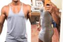 بعض من ملابس الرجال التي تم شرائها عبر الانترنت