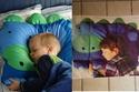 قطعة النوم الخاصة بالأطفال على شكل الديناصور