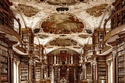 مكتبة Stiftsbibliothek  Sankt Gallen سانت غالن ، سويسرا
