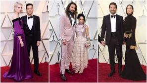 صور: أجمل ثنائيات هوليوود في الأوسكار..لن تتخيل جنون رامي مالك وحبيبته