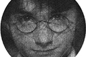 لوحة للشخصية الشهيرة هاري بوتر