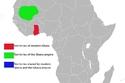 أراضي غانا الحديثة وإمبراطورية غانا