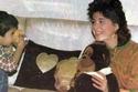 هالة فؤاد في منزلها