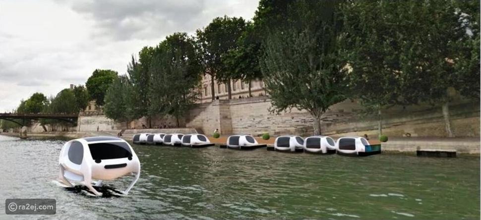 """بالصور: """"فقاعات البحر"""".. أحدث وسيلة للقضاء على التكدس المروري في فرنسا!"""