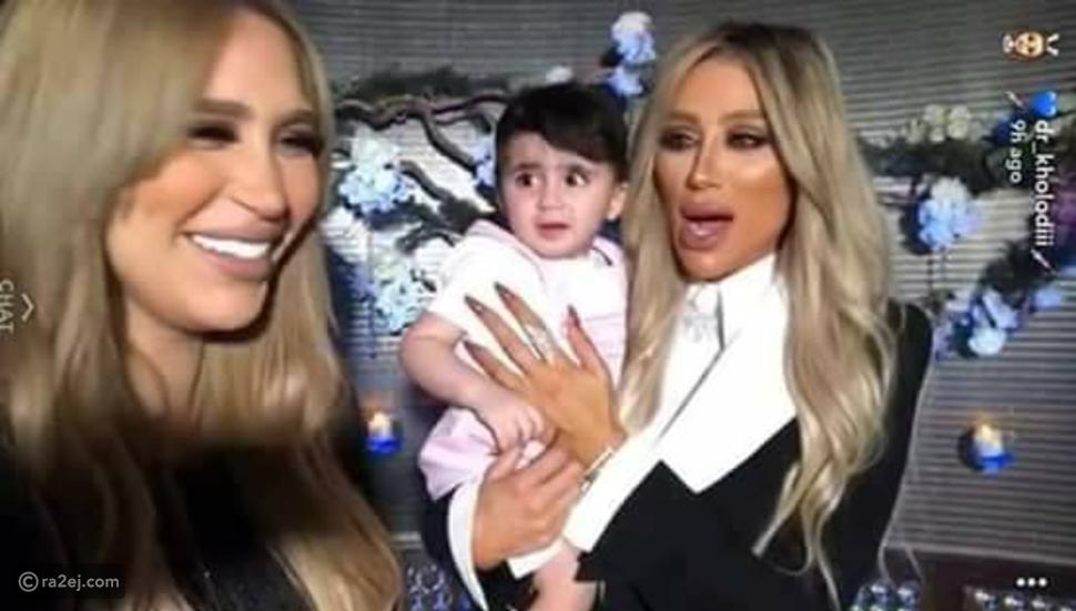 طفلة شعرت بالذعر بسبب اشلبه بين امها ومايا دياب