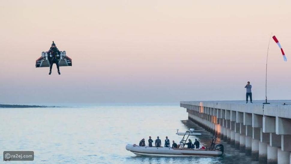الرجل النفاث يفقد حياته خلال تدريب في دبي: كان صاحب رقم قياسي