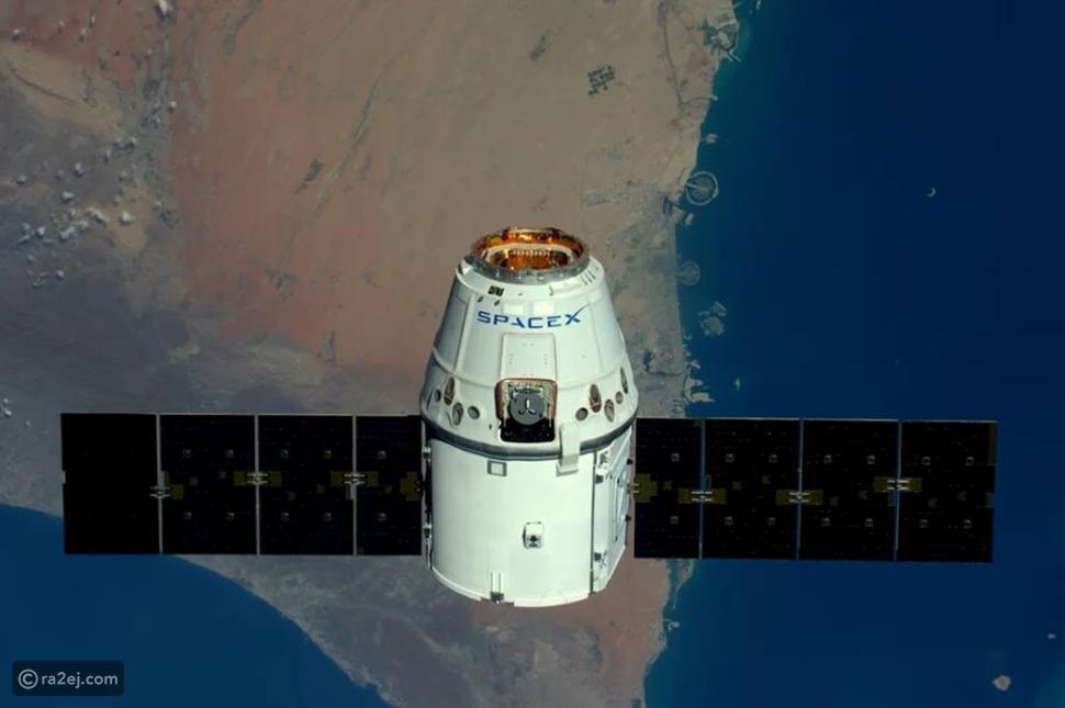 رائد فضاء يلتقط صوراً لجزيرة النخلة بدبي من محطة الفضاء الدولية