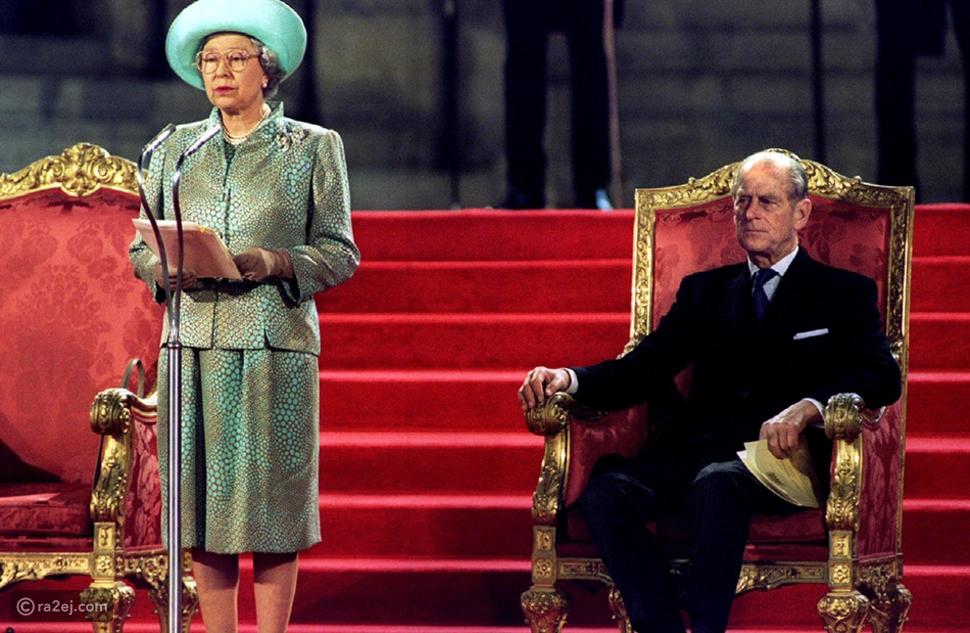 بعد زواج استمر 74 عاماً: الأمير فيليب الشريك المثالي لملكة بريطانيا